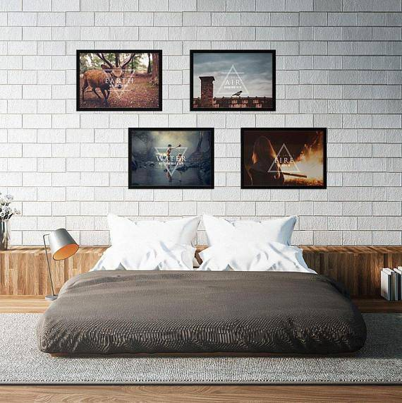 Silver Ares Four Elements II Poster Set