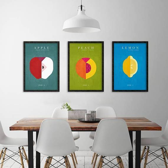 Silver Ares Kitchen Jungle Poster Set