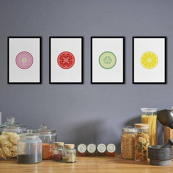 Silver Ares Salad Poster Set