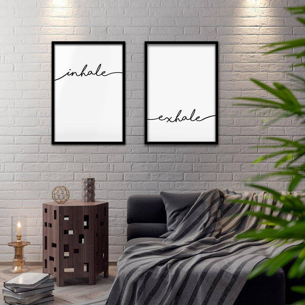 Silver Ares Breathe Poster Set