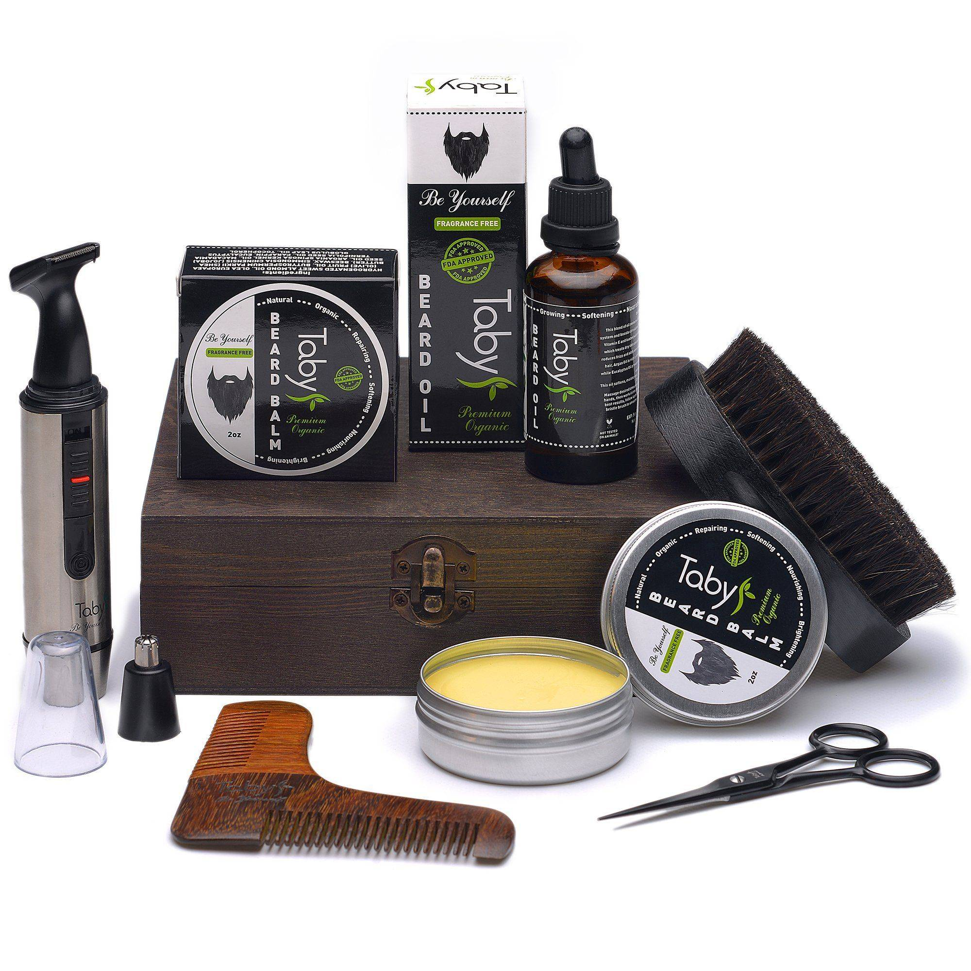 Magenta Misty Beard Grooming and Trimming Set for Men