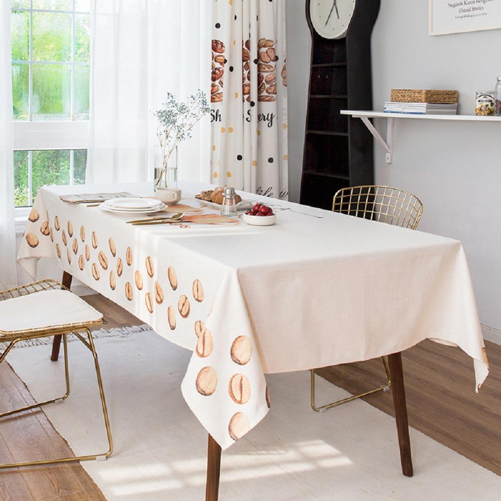 Purple Artemis Cup of Coffee Indoor / Outdoor Tablecloth