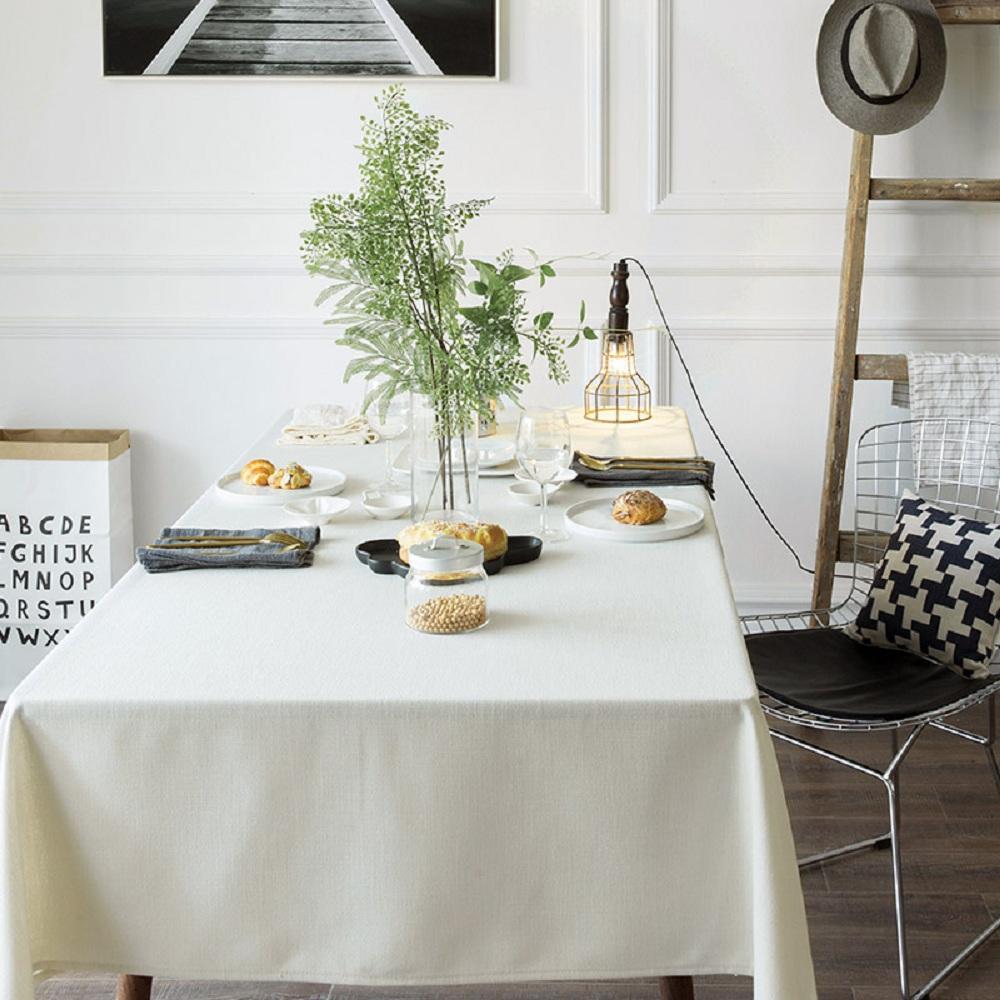 Purple Artemis White Indoor / Outdoor Tablecloth