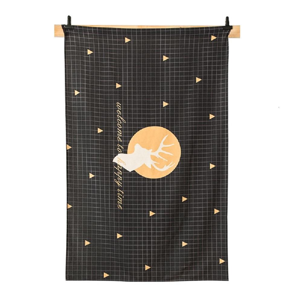 Purple Artemis Elk B Indoor / Outdoor Tablecloth