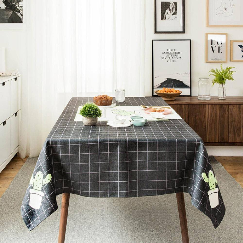 Purple Artemis Youth Cactus B Indoor / Outdoor Tablecloth