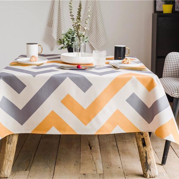 Purple Artemis Moderne Indoor / Outdoor Tablecloth