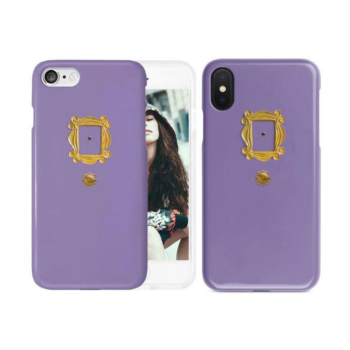 Libra Friends TV Show Purple Door Peephole Phone Case