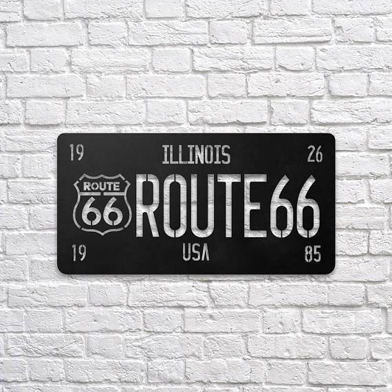 Silver Ares Route Metal Wall Art