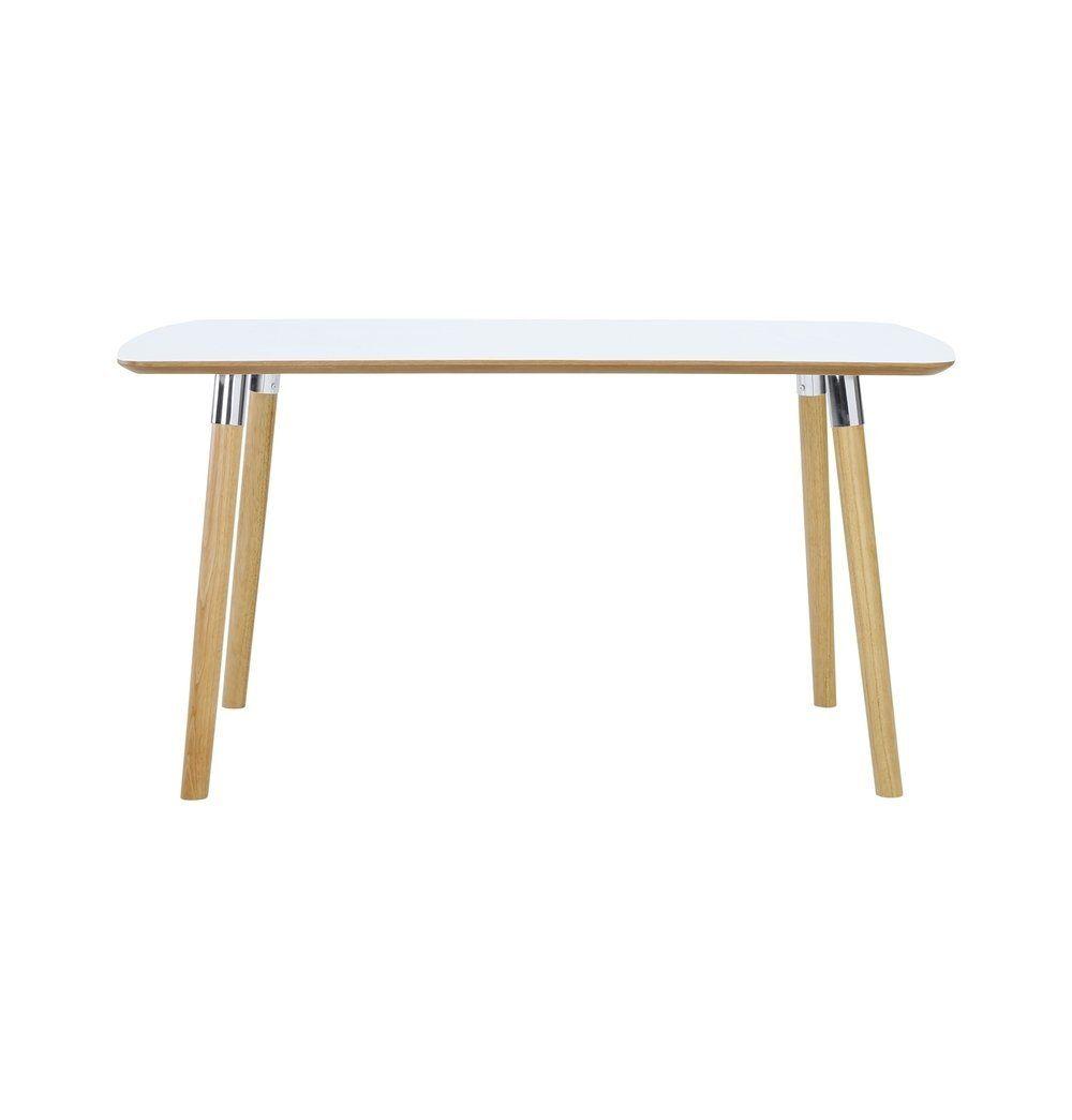 Azure Tiger Jazz Dining Table - White