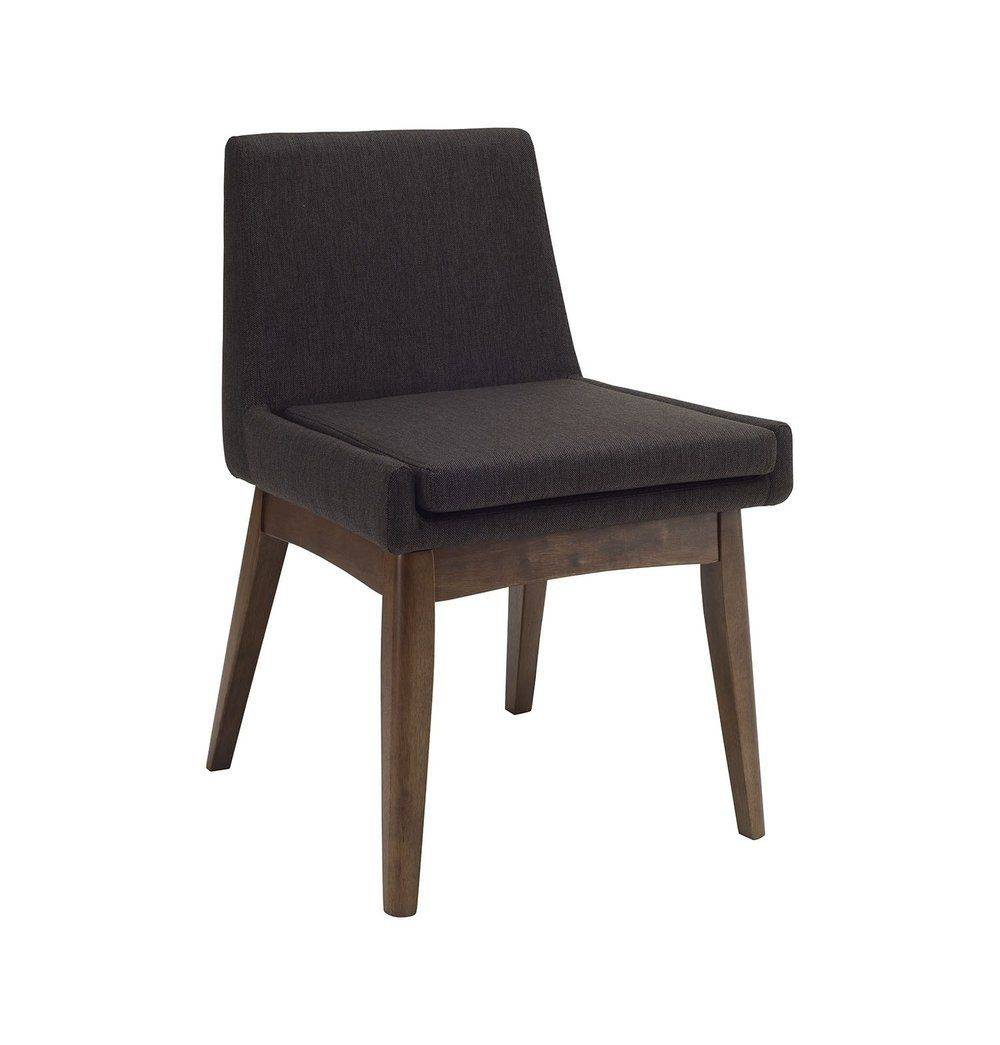 Azure Tiger Chanel Dining Chair - Mud & Cocoa