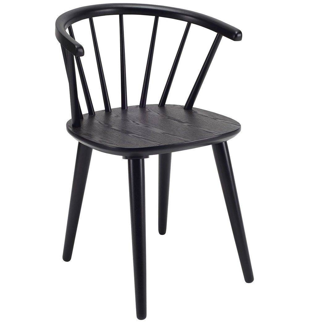 Azure Tiger Caley Dining Chair - Black