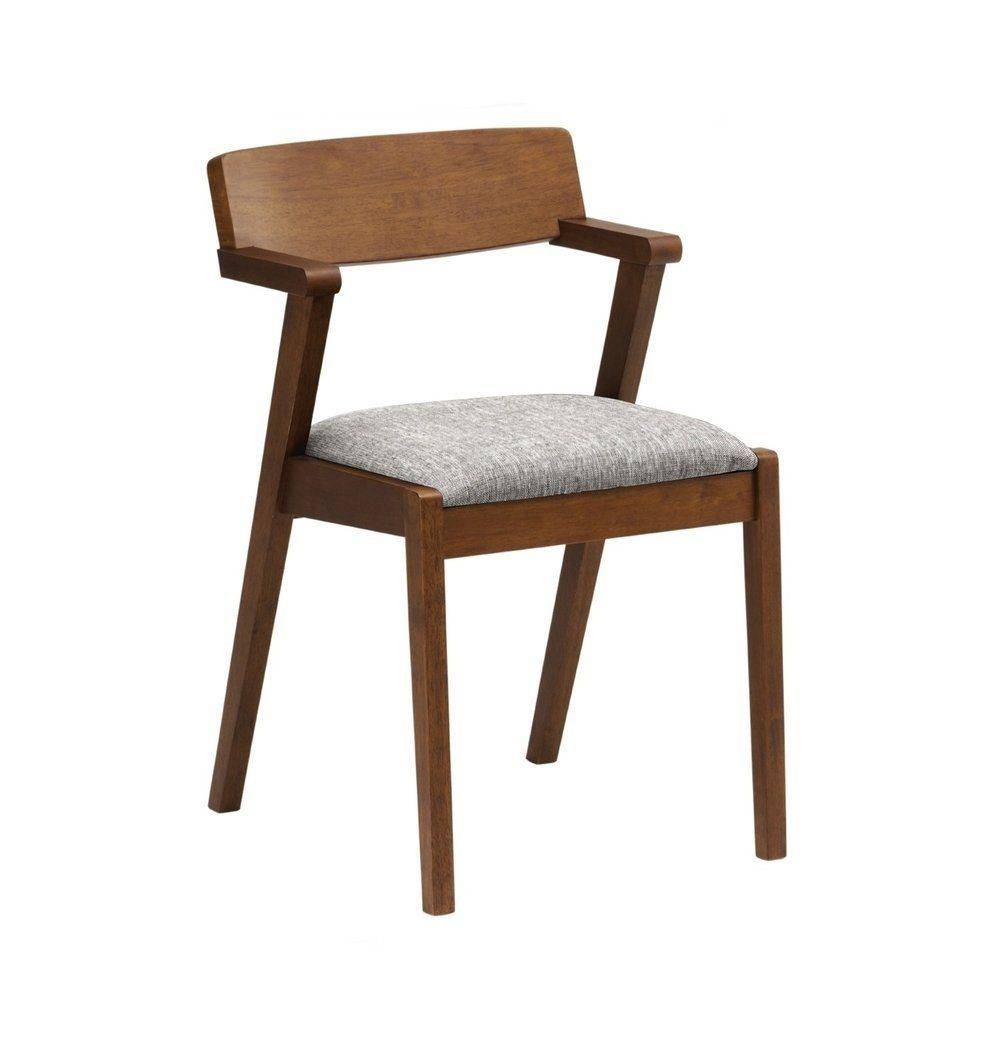 Azure Tiger Zola Dining Chair - Cocoa & Pebble
