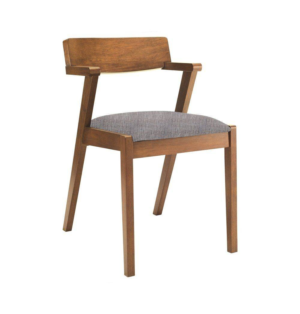Azure Tiger Zola Dining Chair - Cocoa & Coral