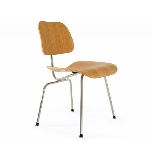 Azure Tiger DCM Molded Plywood Dining Chair - Reproduction