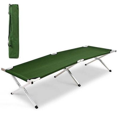 Silver Molly Aluminum Folding Camping Bed Outdoor