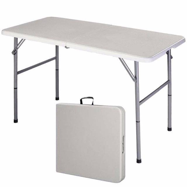 Silver Molly Folding Table Portable Picnic Party Dining