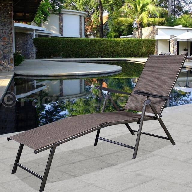 Silver Molly Pool Chaise Lounge Chair Recliner Outdoor