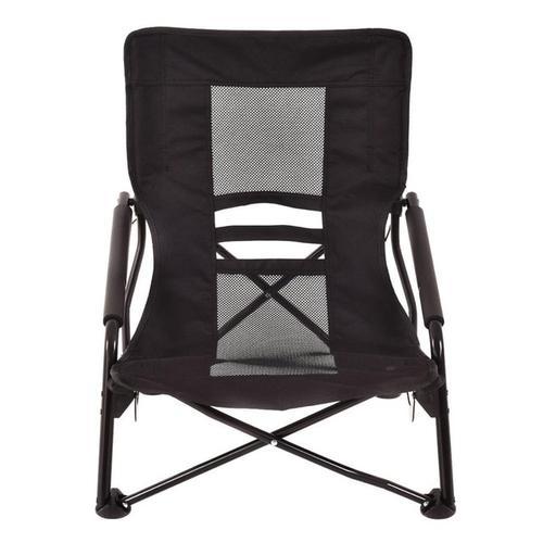 Silver Molly Outdoor High Back Folding Beach Chair