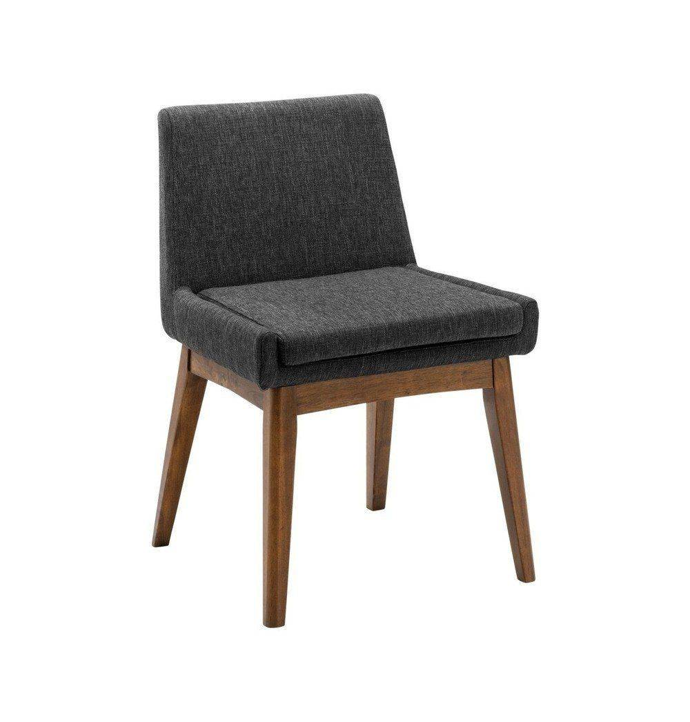 Azure Tiger Chanel Dining Chair - Liquorice & Cocoa