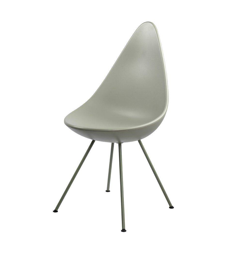 Azure Tiger Drop Chair - Grey - Reproduction