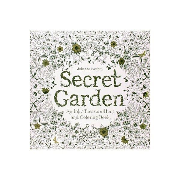 ApolloBox Secret Garden With 24 Watercolor Pencils