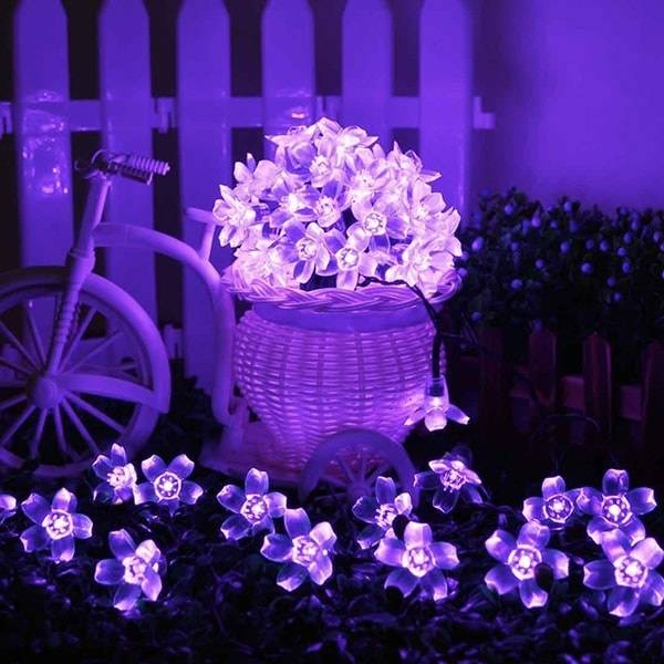 ApolloBox Blossom Flower Solar Garden Lights