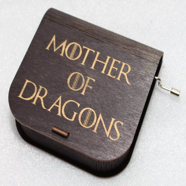 ApolloBox Game Of Thrones Music Box - Mother Of Dragons