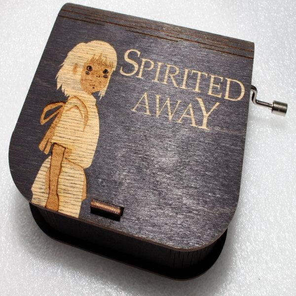 ApolloBox Spirited Away Music Box - Chihiro Ogino