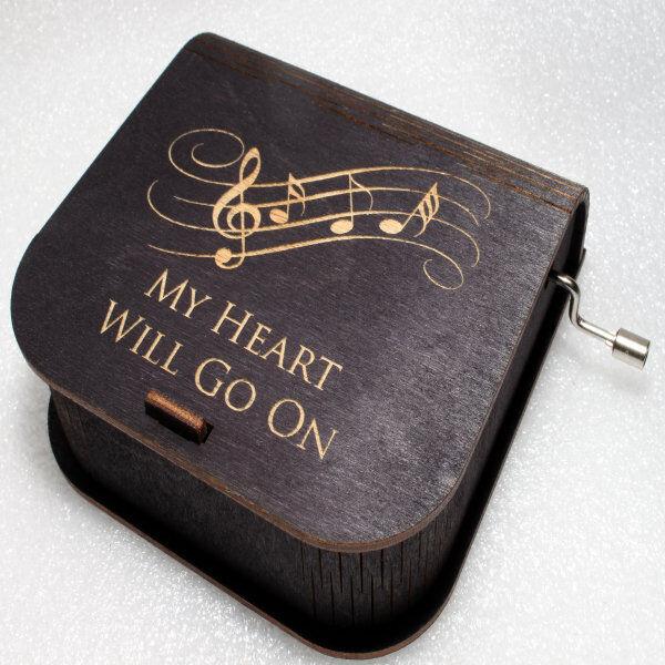 ApolloBox Titanic Music Box - My Heart Will Go On