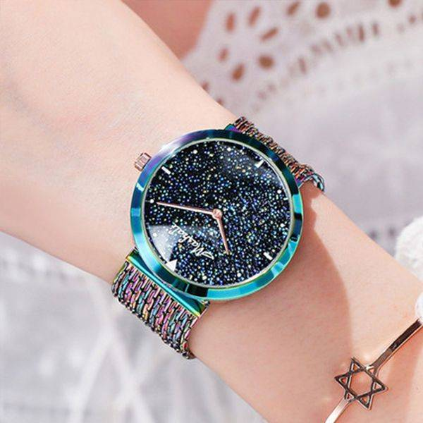 ApolloBox Galaxy Crystals Watch