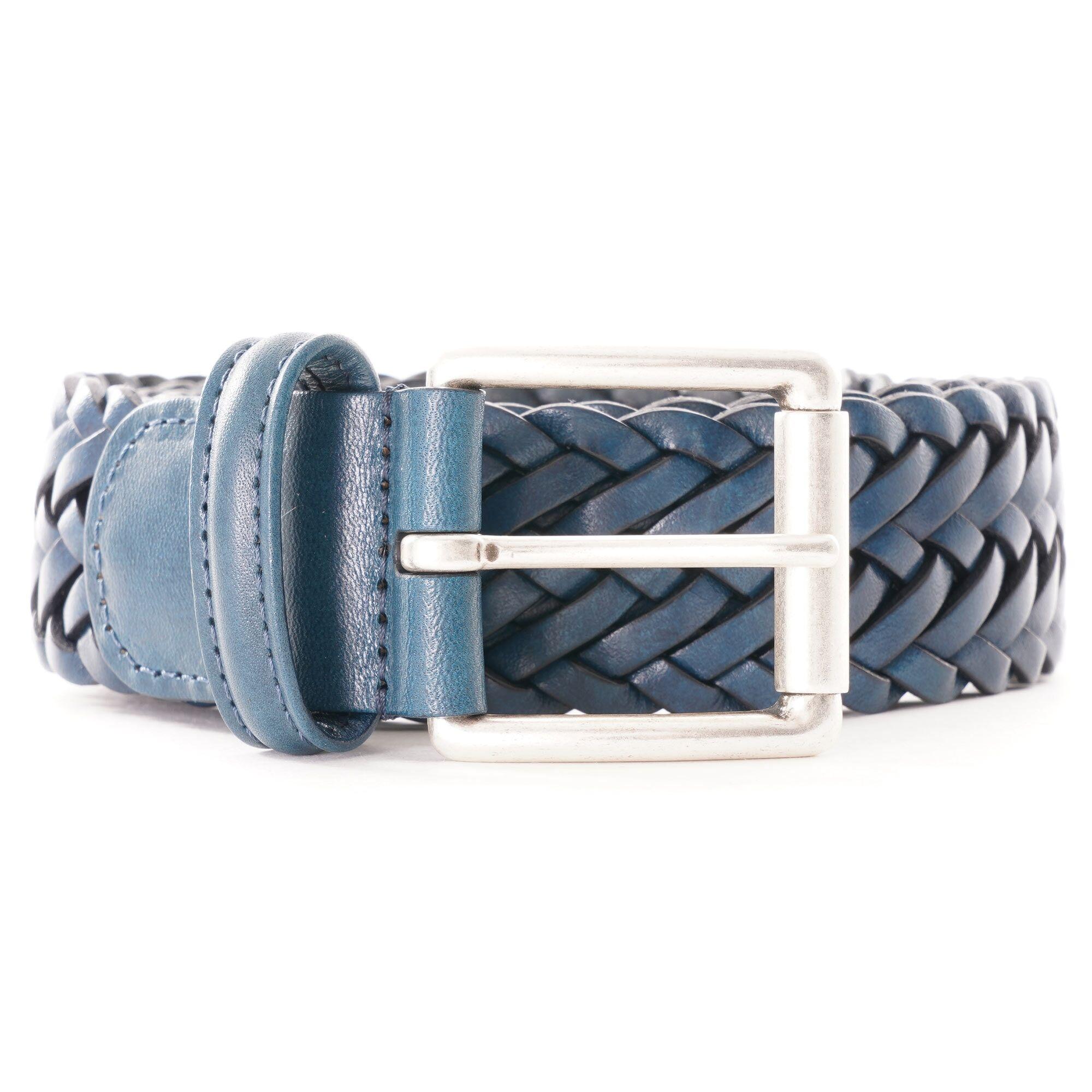 Anderson's Belts Anderson Woven Belt   Blue    A1097-B5