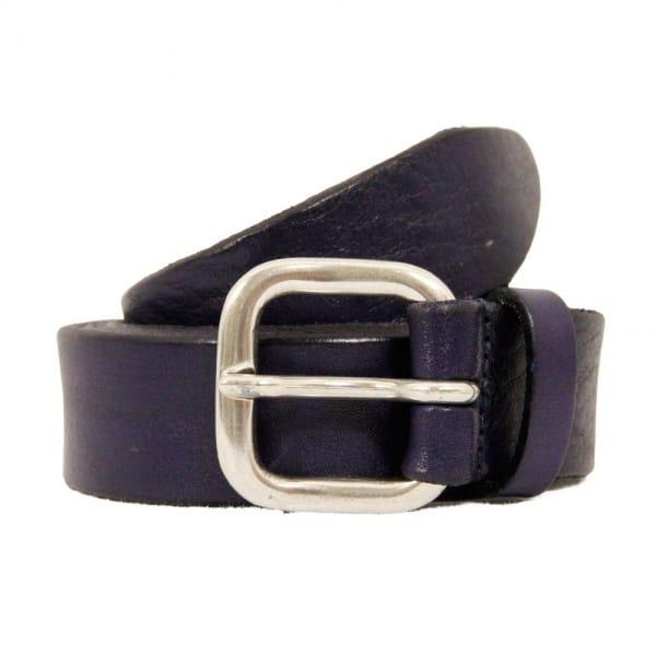 Anderson's Belts Grain Leather Belt   Purple   AF3242