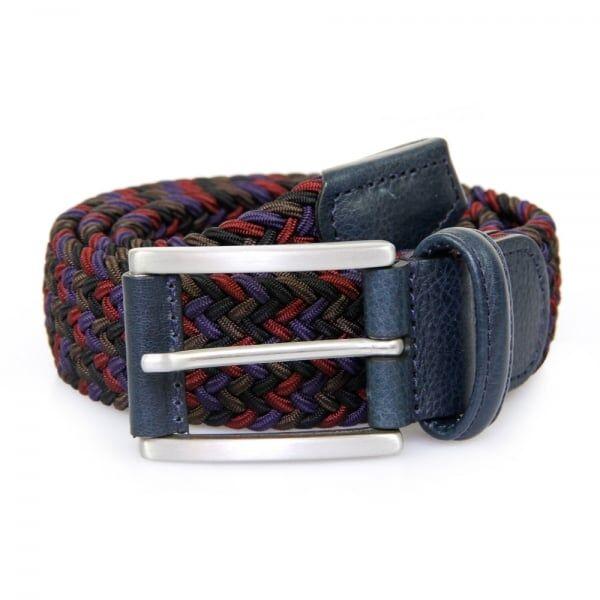 Anderson's Belts Anderson's Belt Elastic Woven Belt   Multi   0667NE41
