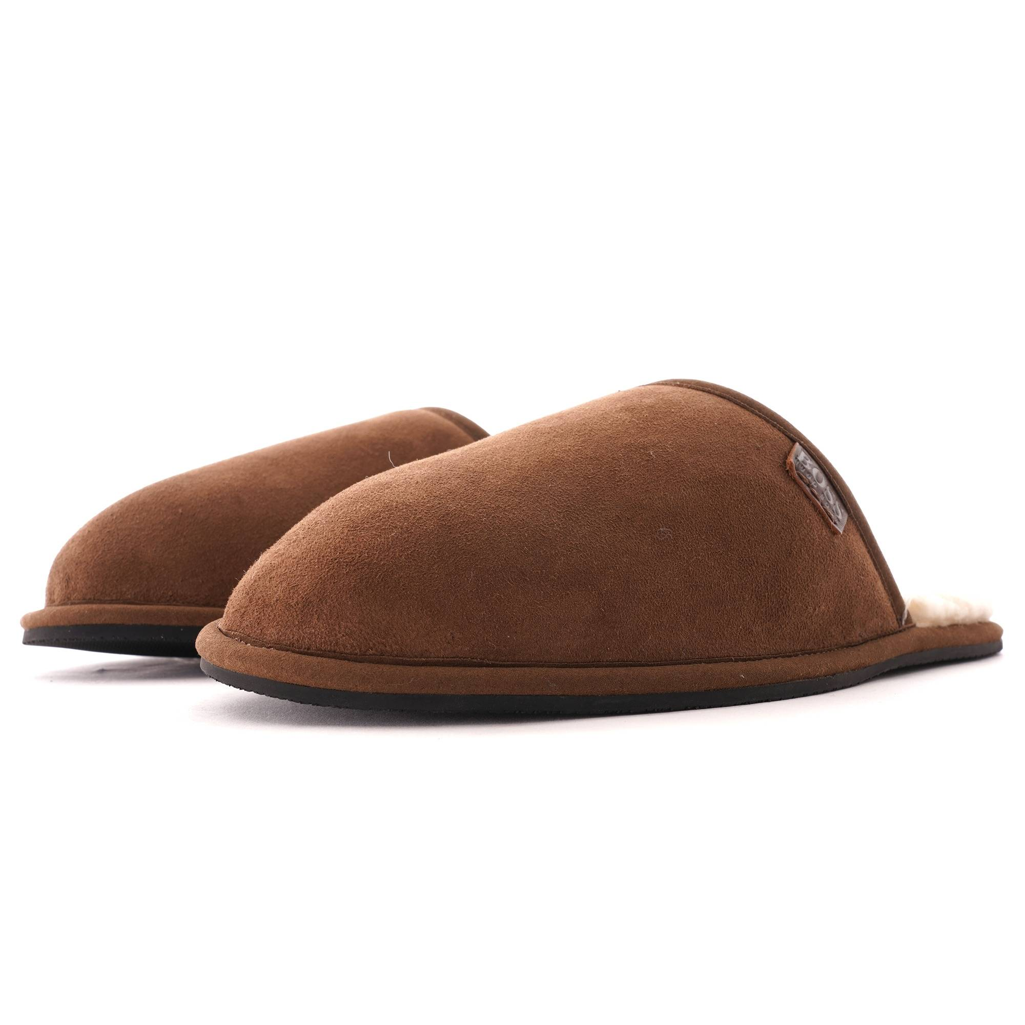 BOSS home slippers   Dark Brown   50420914-211