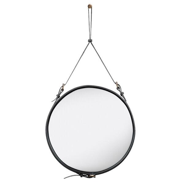 Gubi Adnet mirror M, black