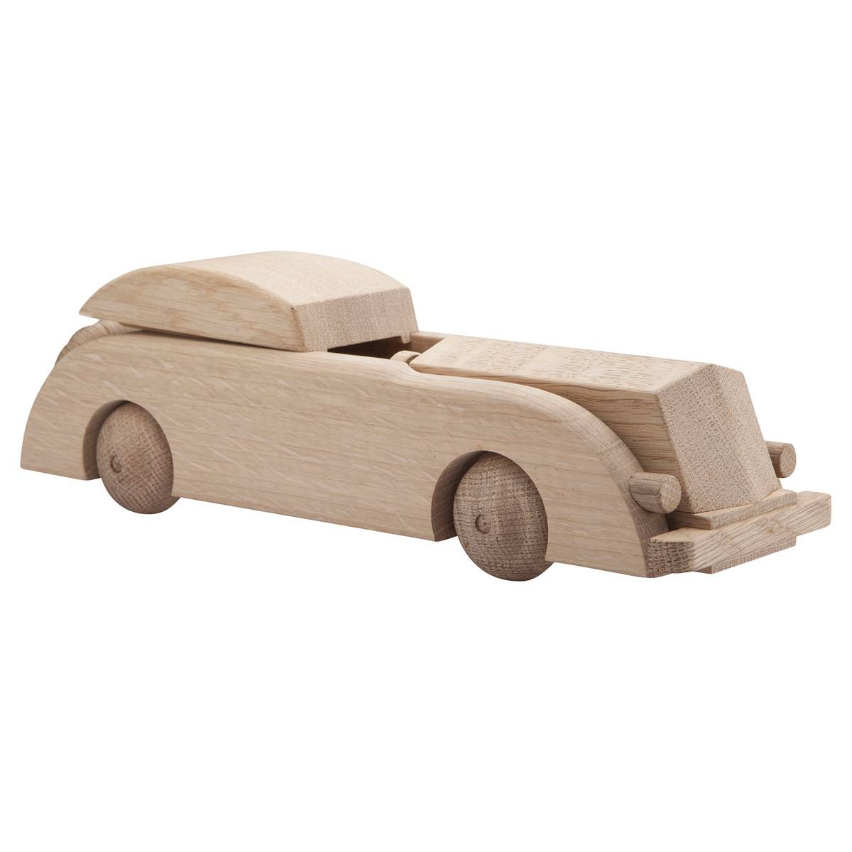 Kay Bojesen Limousine wooden car, oak, large