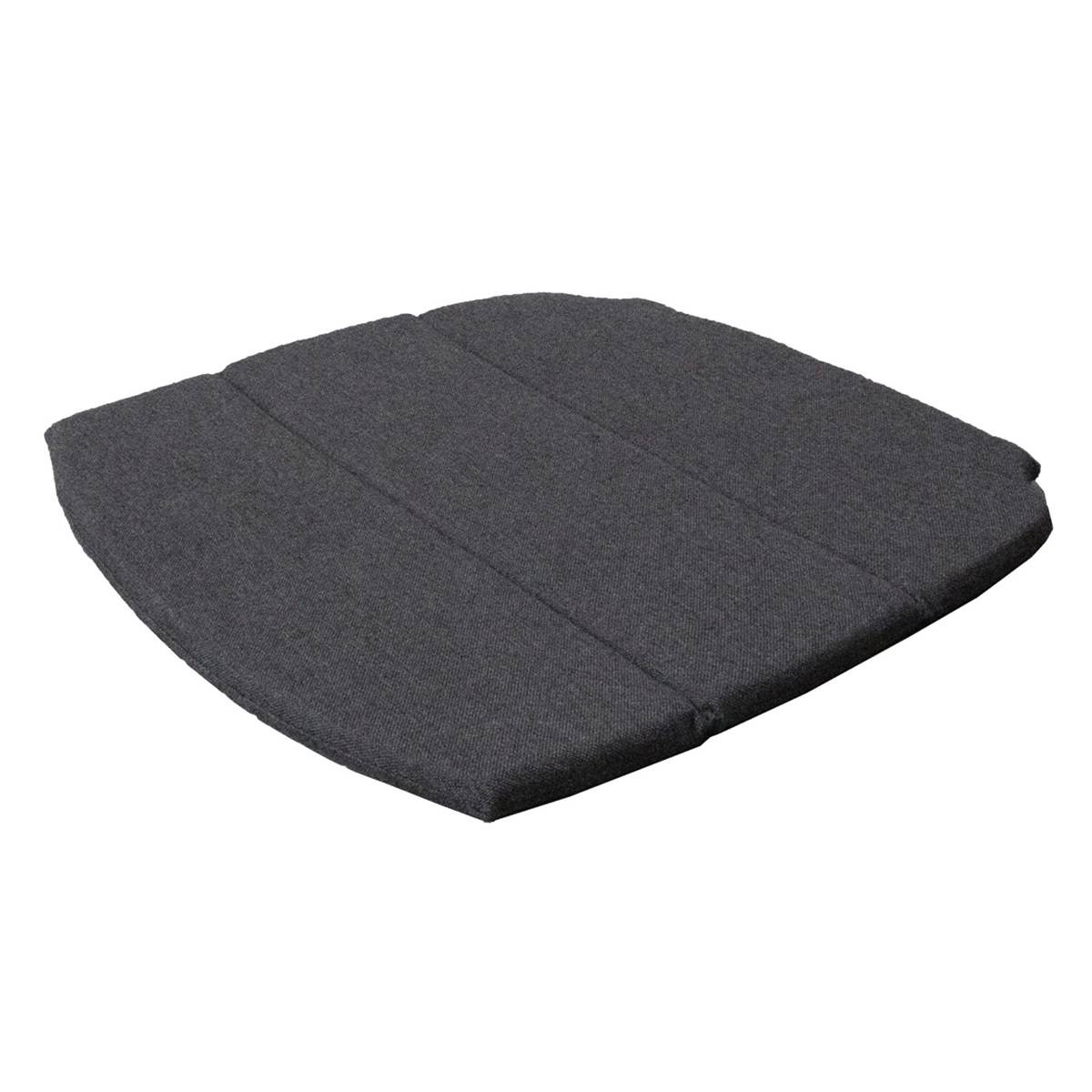 Cane-line Seat cushion for stackable Breeze dining chair, black