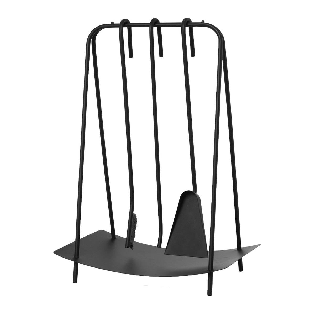 Ferm Living Port fireplace tools, black