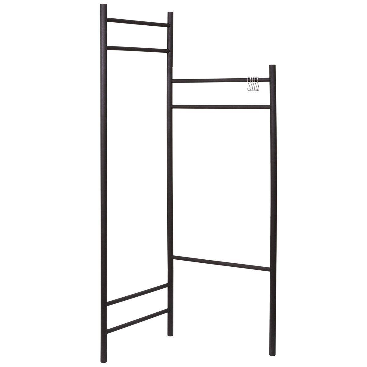 Verso Design Tikas clothes rack, black
