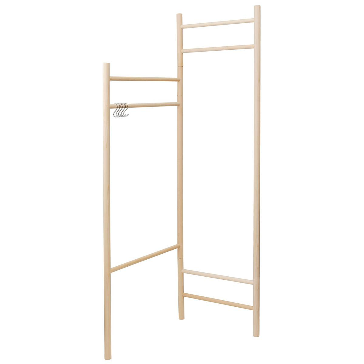 Verso Design Tikas clothes rack, birch
