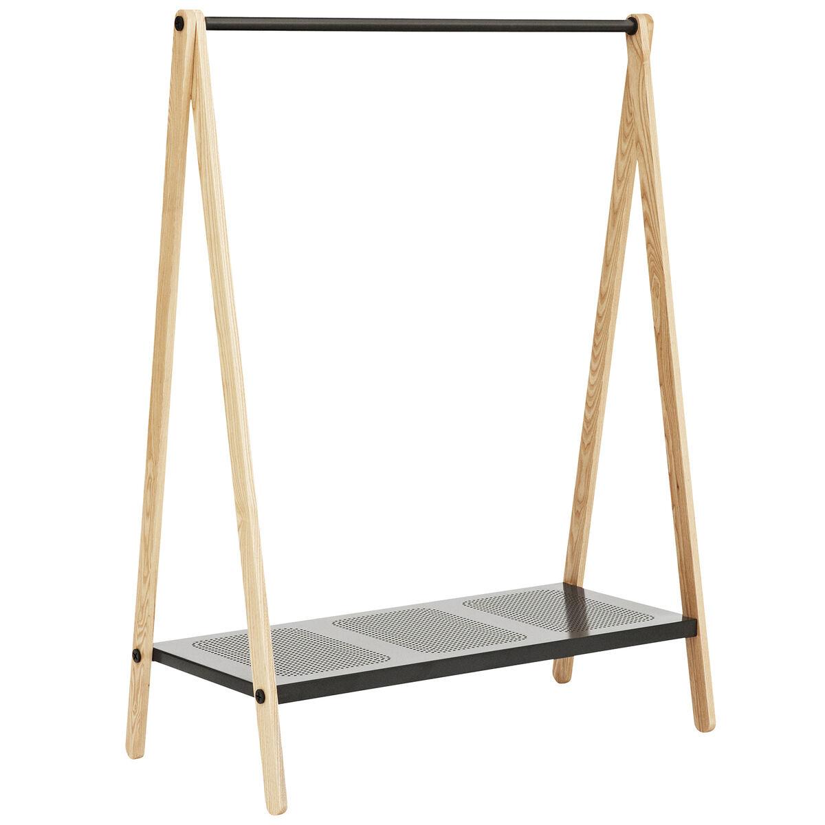 Normann Copenhagen Toj clothes rack, large, grey - ash