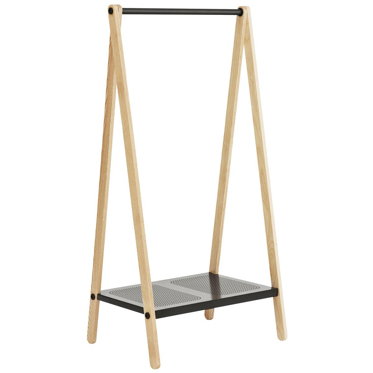 Normann Copenhagen Toj clothes rack, small, grey - ash