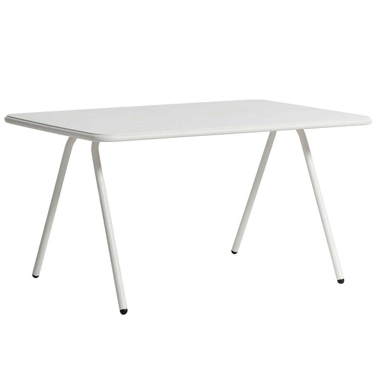 Woud Ray dining table 140 cm, white