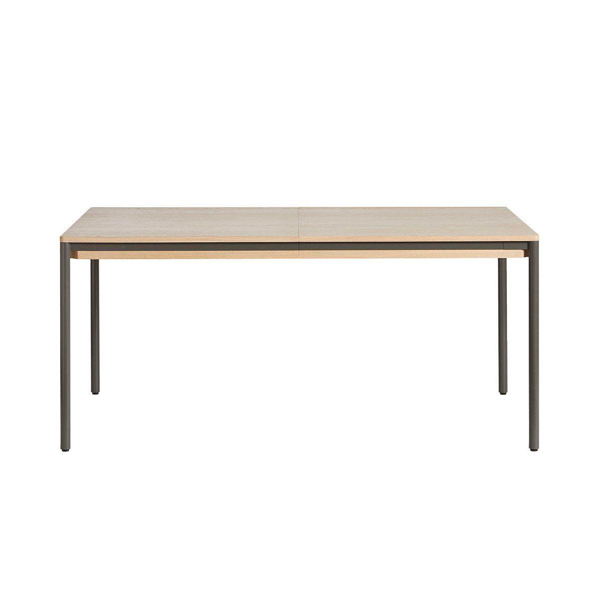 Woud Piezas extendable dining table, 160 x 95 cm, oak