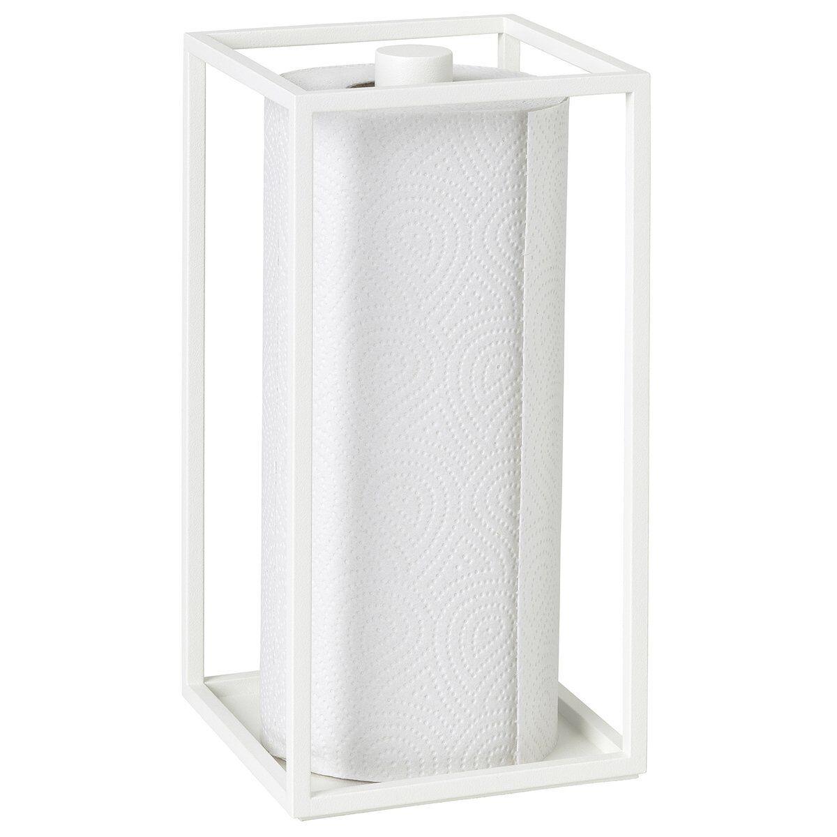 By Lassen Kubus Roll'in kitchen paper holder, white