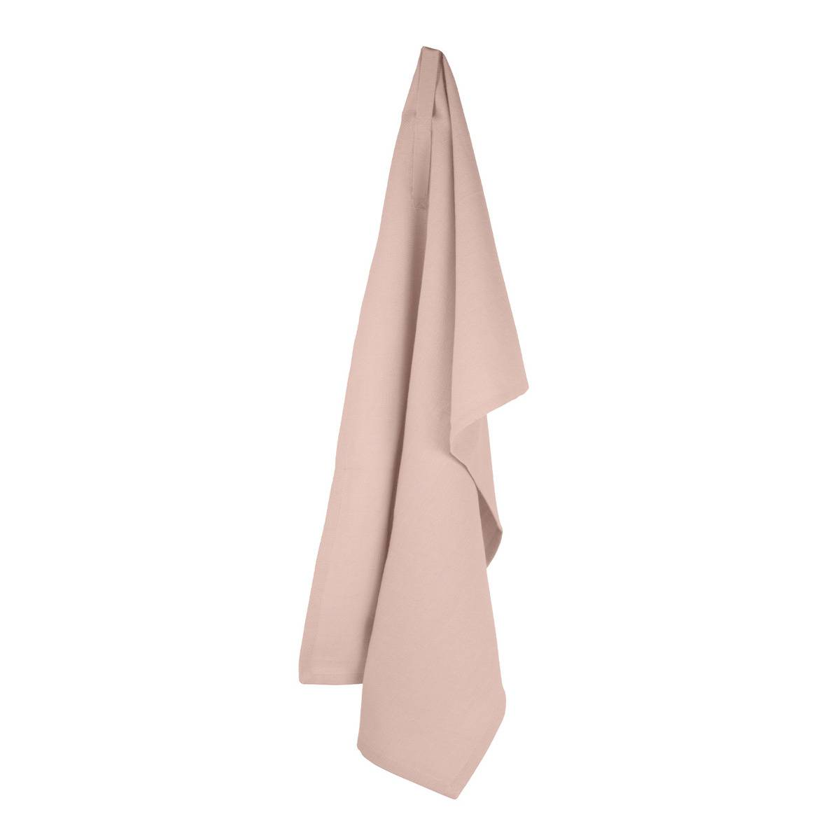The Organic Company Kitchen towel, pale rose