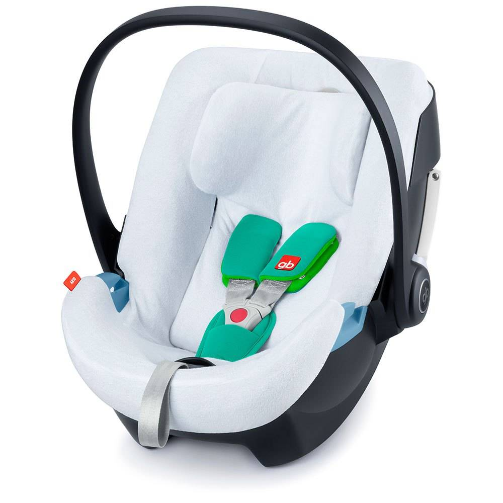 Gb Summer Cover For Artio Infant Car Seat One Size White; unisex,