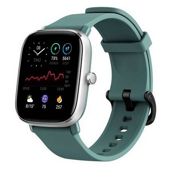 Amazfit Gts 2 Mini Smartwatch One Size Sage Green; unisex,
