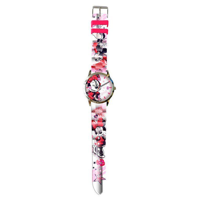 Kids Licensing Disney Minnie Watch One Size White / Pink; unisex,