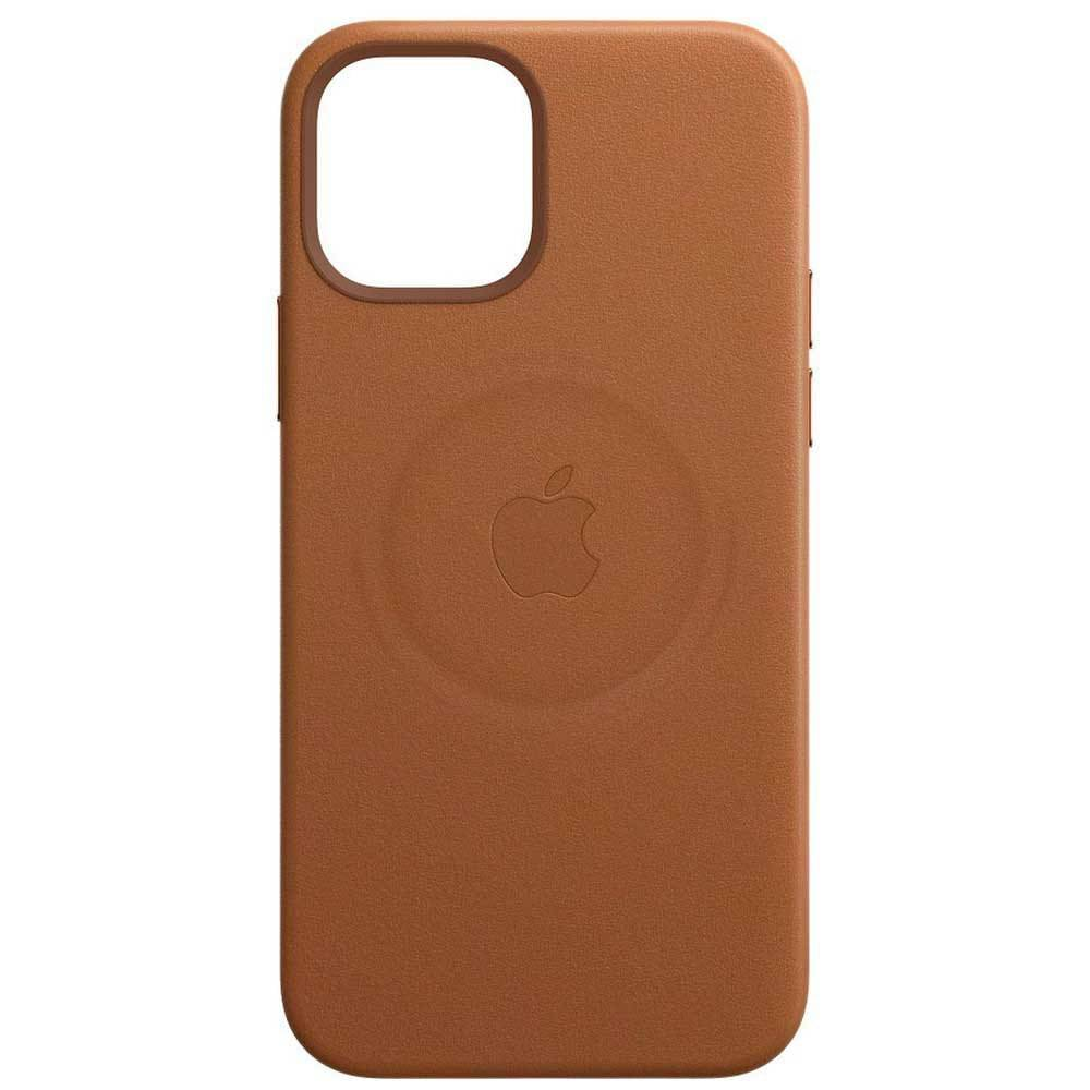 Apple Iphone 12 Mini Leather Case With Magsafe One Size Saddle Brown; unisex,